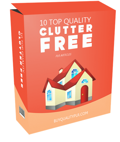 10 Top Quality Clutter Free PLR Articles