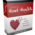 10 Top Quality Heart Health PLR Articles Pack