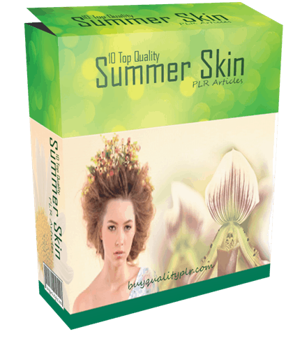 10 Top Quality Summer Skin PLR Articles