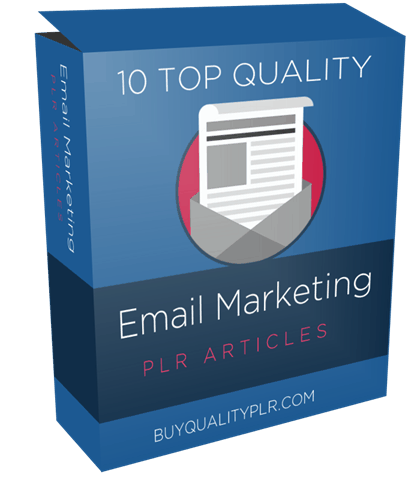 10 TOP QUALITY EMAIL MARKETING PLR ARTICLES