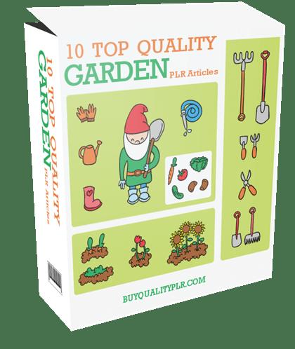 10 Top Quality Kids Garden PLR Articles