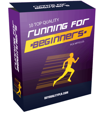 10 Top Quality Running For Beginners PLR Articles