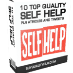 10 TOP QUALITY SELF HELP PLR ATRICLES AND TWEETS Pack