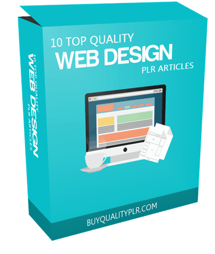 10 TOP QUALITY WEB DESIGN PLR ARTICLES