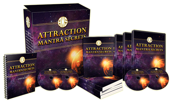 Attraction Mantra Secrets Ebook Package and Upsell Videos