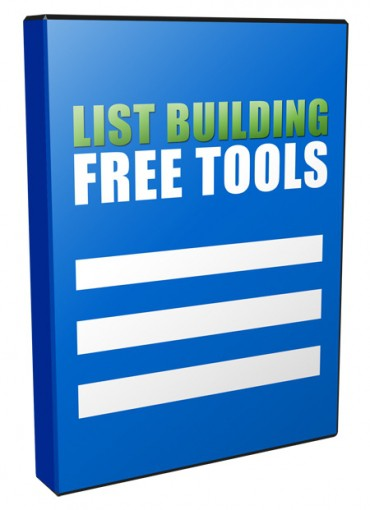 Free List Building Tools Unrestricted PLR Videos