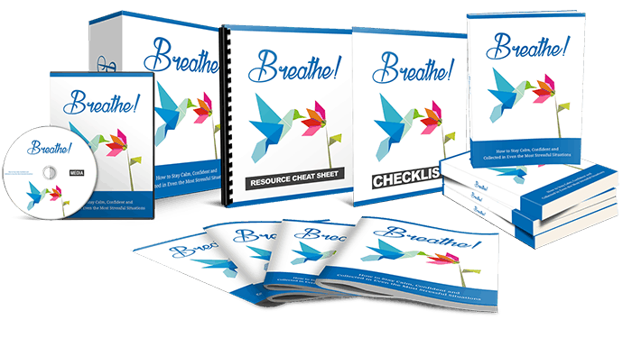 Breath Ebook and Videos Upgrade Sales Funnel Package with Master Resell Rights