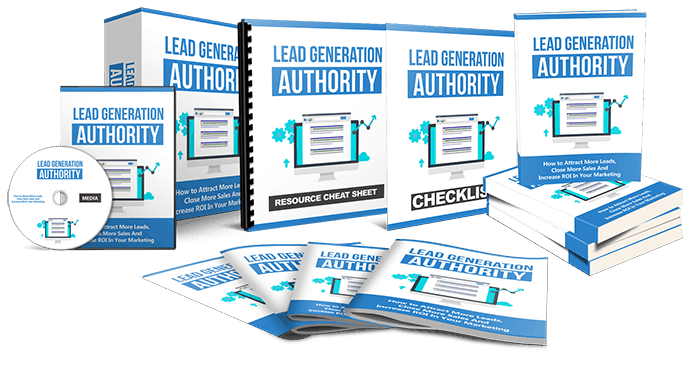 Lead Generation Authority Lead Generation Authority Sales Funnel with Master Resell Rights