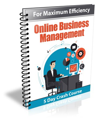 5-Day Online Business Management PLR Newsletter eCourse