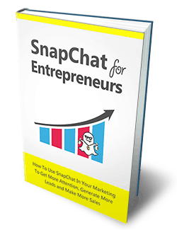 Snapchat For Entrepreneurs Master Resell Rights eBook