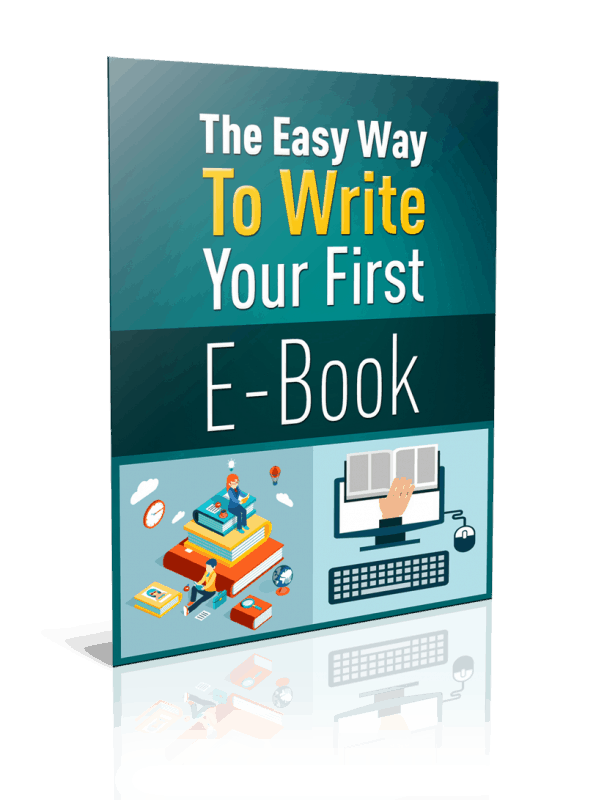 The Easy Way To Write Your First Ebook Unrestricted PLR Report