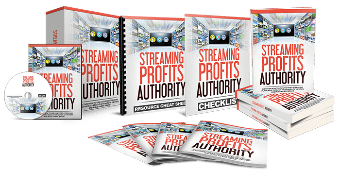 Streaming Profits Authority Sales Funnel with Master Resell Rights
