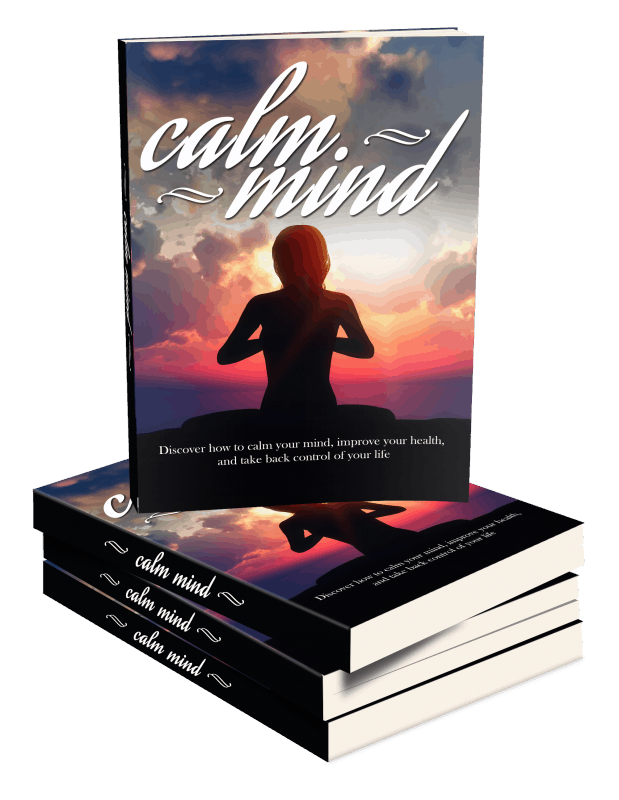 Calm Mind Healthy Body Sales Funnel with Master Resell Rights ebook
