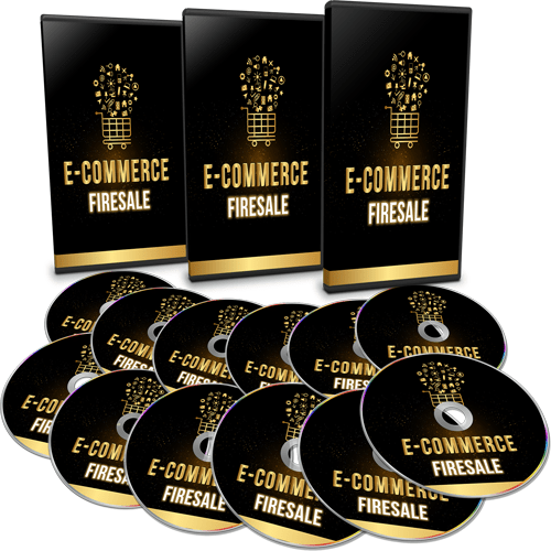 Ecommerce Firesale Sales Funnel Mega Pack with Master Resell Rights