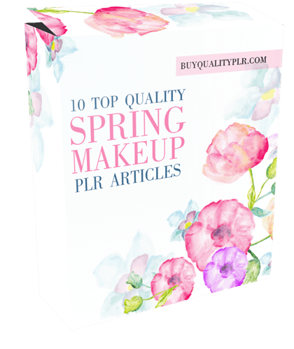 10 Top Quality Spring Makeup PLR Articles