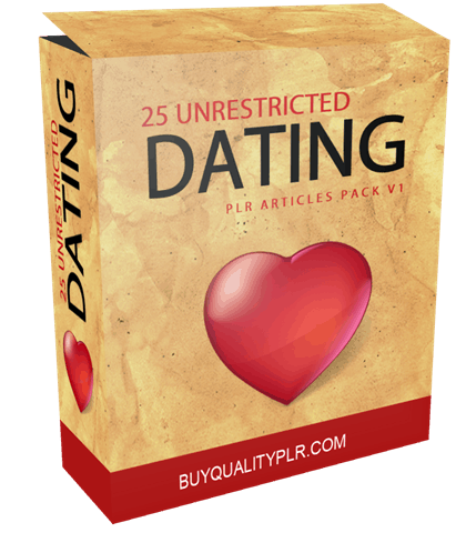 Exclusive plr articles on dating