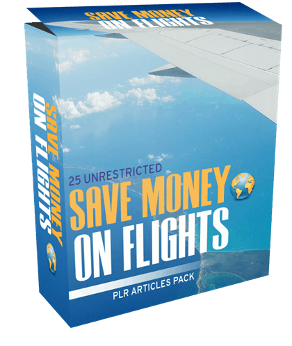 25-unrestricted-save-money-on-flights-plr-articles-pack