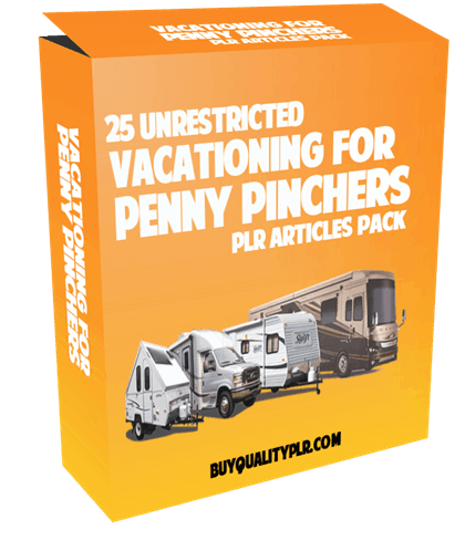 25-unrestricted-vacationing-for-penny-pinchers-plr-articles-pack