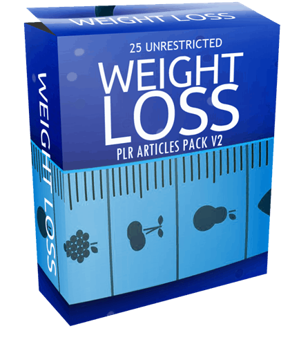 25-unrestricted-weight-loss-plr-articles-pack-v2