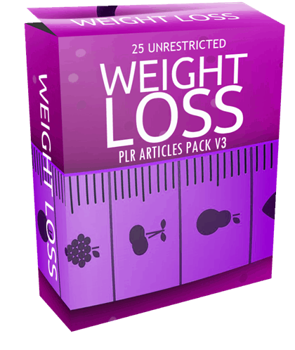 25-unrestricted-weight-loss-plr-articles-pack-v3