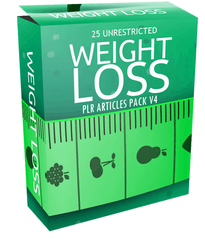 25-unrestricted-weight-loss-plr-articles-pack-v4