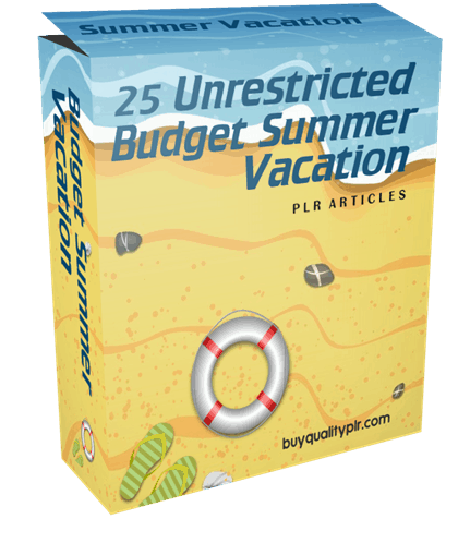 25-unrestricted-budget-summer-vacation-plr-articles
