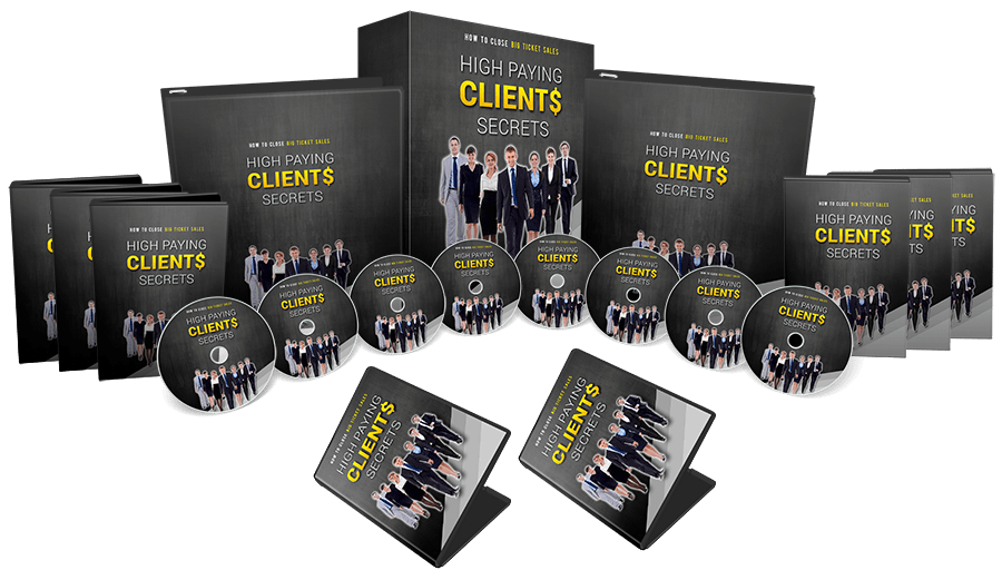 High Paying Clients Secrets Sales Funnel Mega Pack with Master Resell Rights