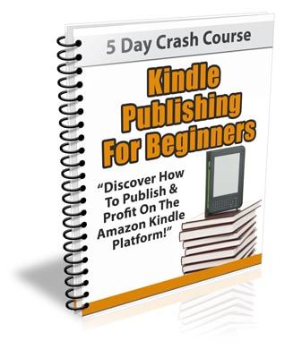 Kindle Publishing For Beginners PLR Newsletter eCourse