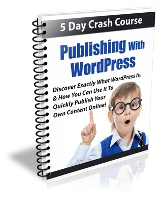 Publishing With WordPress PLR Newsletter eCourse