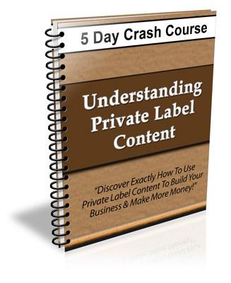 Understanding Private Label Content PLR Newsletter eCourse
