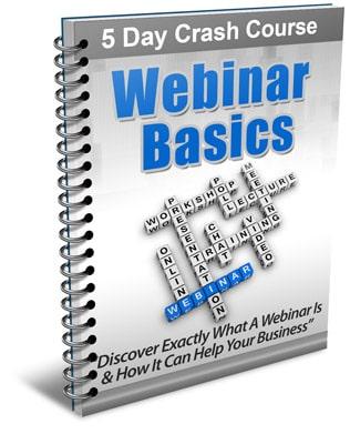 Webinar Basics PLR Newsletter eCourse