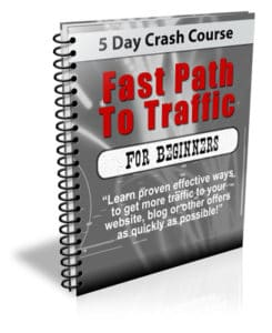 Fast Path To Traffic PLR Newsletter eCourse