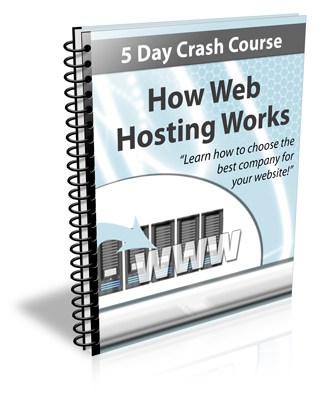 How Web Hosting Works PLR Newsletter eCourse