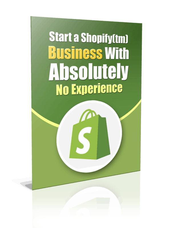 Start a Shopify Business PLR Report Resell PLR