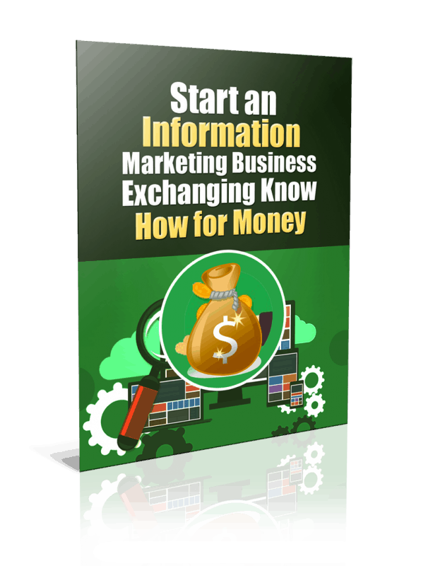 Start an Information Marketing Business PLR Report Resell PLR