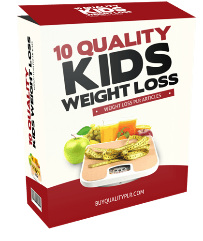 10-quality-kids-weight-loss-plr-articles