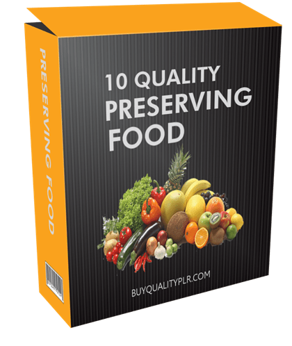 10-quality-preserving-food-plr-articles