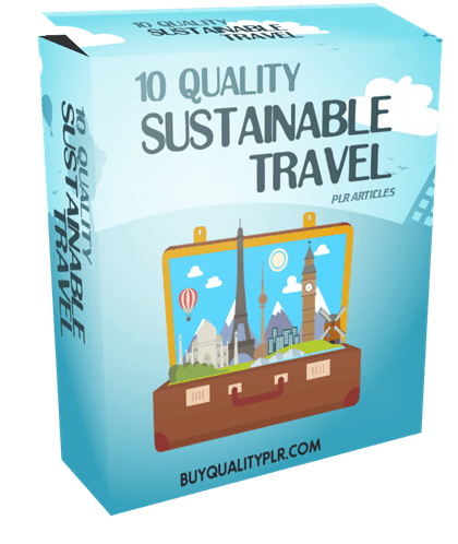 10-quality-sustainable-travel-plr-articles