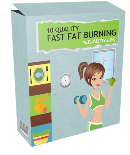 10-quality-fast-fat-burning-plr-articles