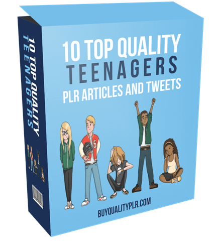 10-top-quality-teenagers-plr-articles-and-tweets
