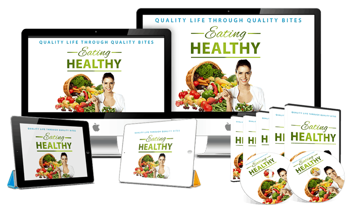 Eating Healthy Sales Funnel with Master Resell Rights
