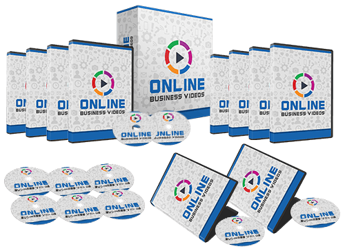 Online Business Training Videos Sales Funnel with Master Resell Rights