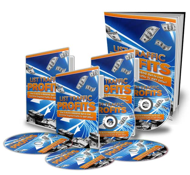 List Traffic Profits Video Series with Master Resell Rights
