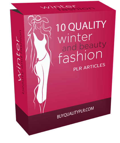 10 Quality Winter Beauty and Fashion PLR Articles