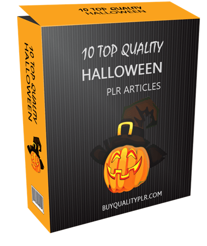 10 Top Quality Halloween PLR Articles