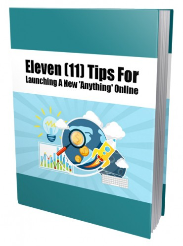 11 Tips For Launching A New Anything Online PLR eBook Resell PLR