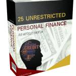 25 Unrestricted Personal Finance PLR Articles Pack V4