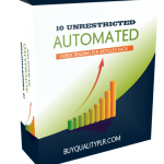 10 UNRESTRICTED AUTOMATED FOREX TRADING PLR ARTICLES PACK