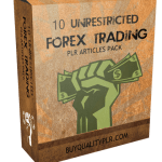 10 UNRESTRICTED FOREX TRADING PLR ARTICLES PACK