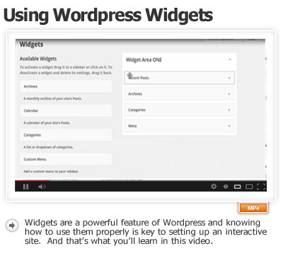 use-wordpress-widgets-effectively